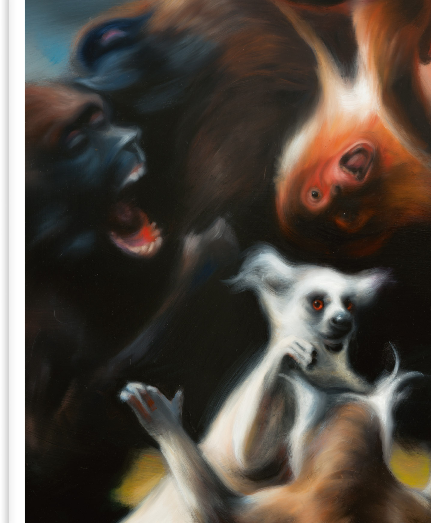 Hugo Wilson: Thierleben Galerie Judin Berlin