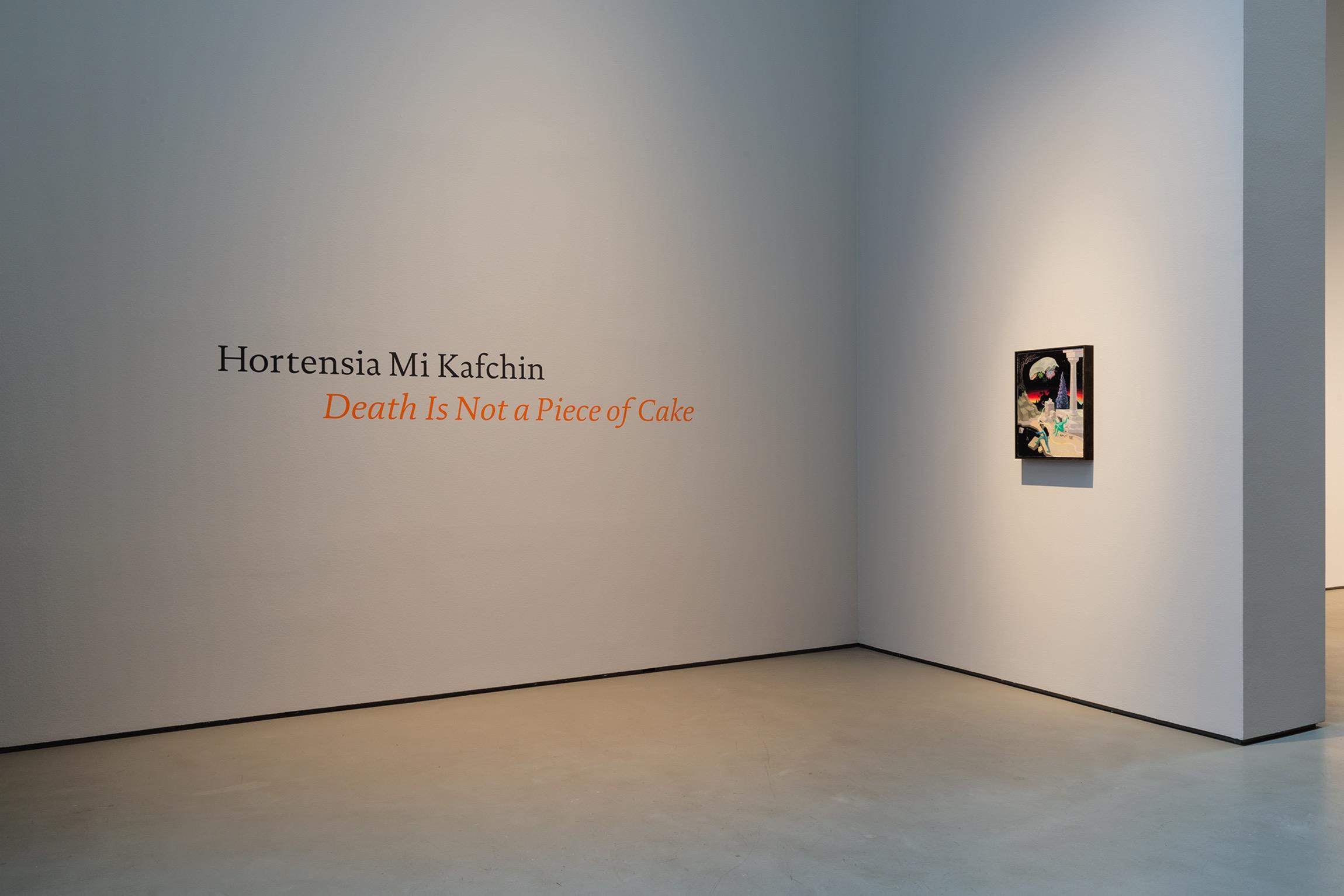 Hortensia Mi Kafchin Death Is Not a Piece of Cake Galerie Judin