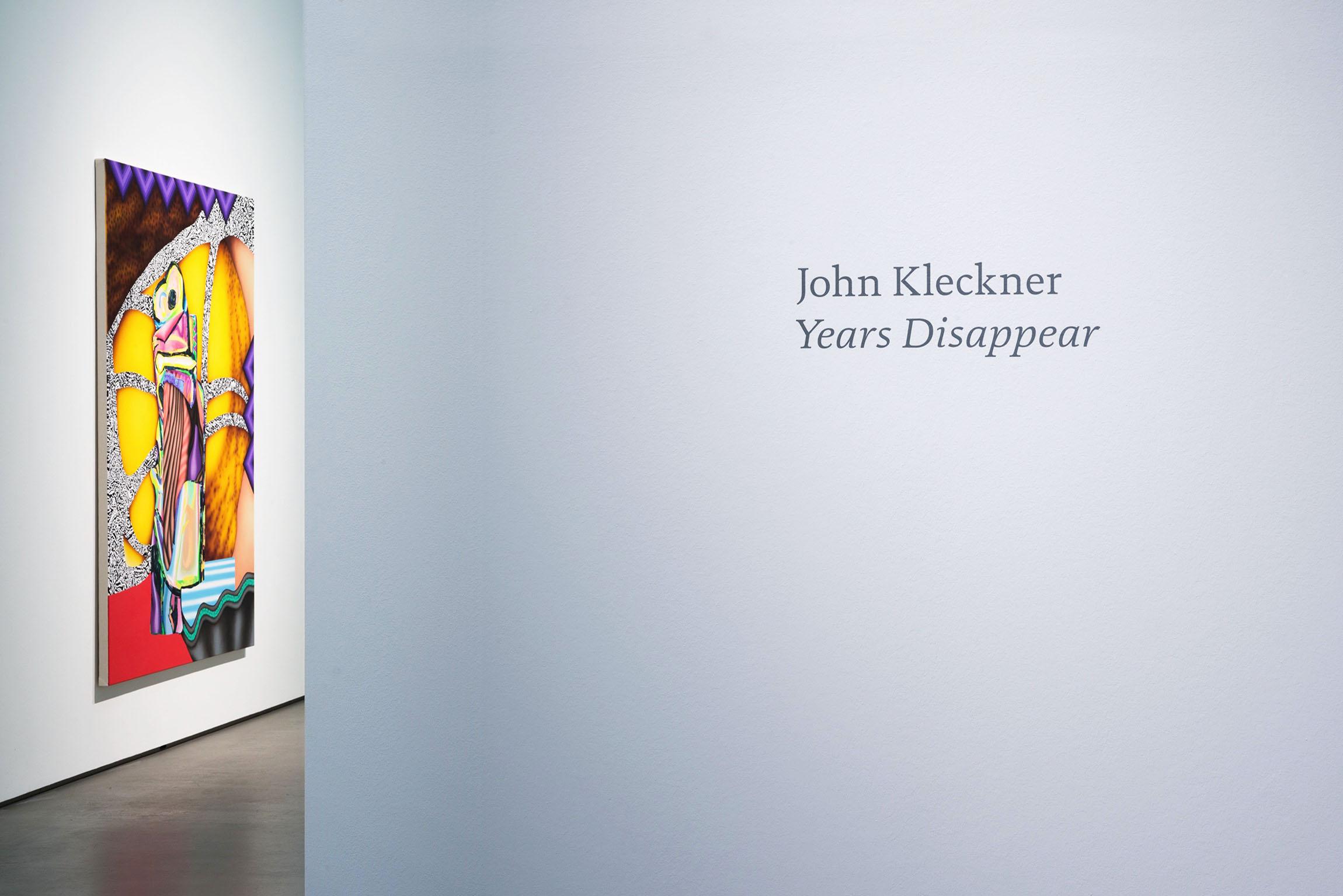 2017 John Kleckner Years Disappear