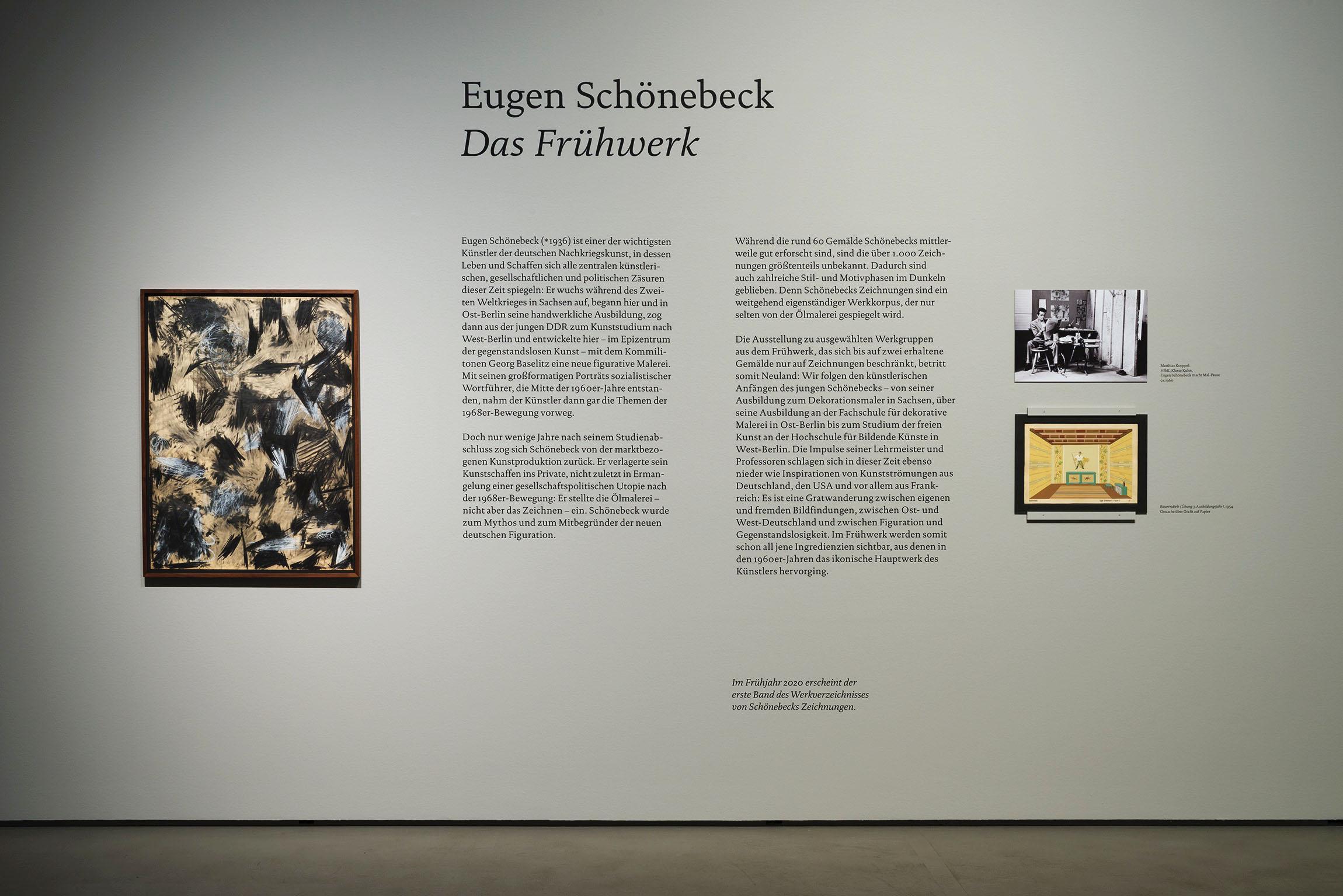 2019 Eugen Schönebeck Das Frühwerk