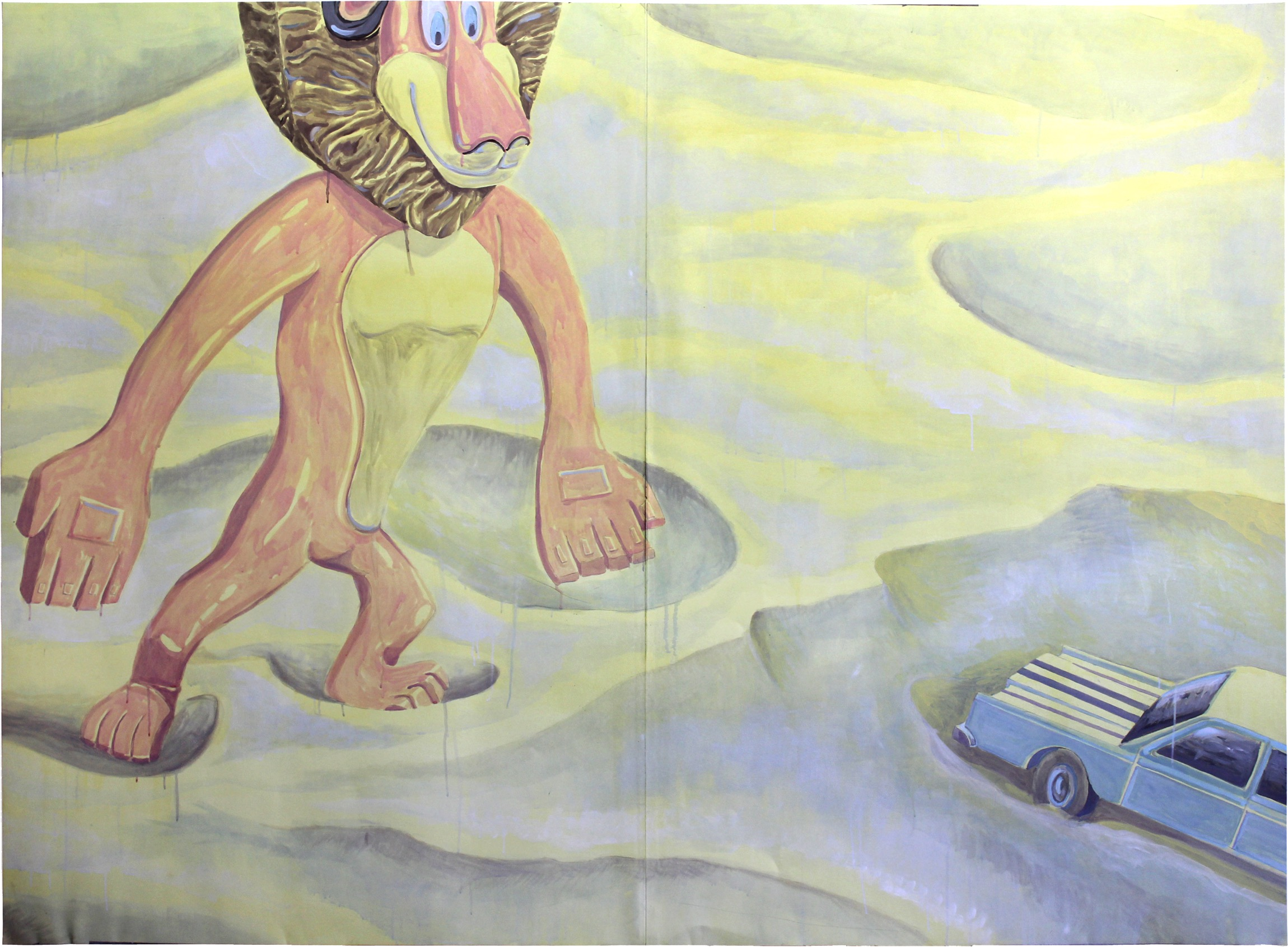 2012 Edouard Baribeaud Hic sunt leones