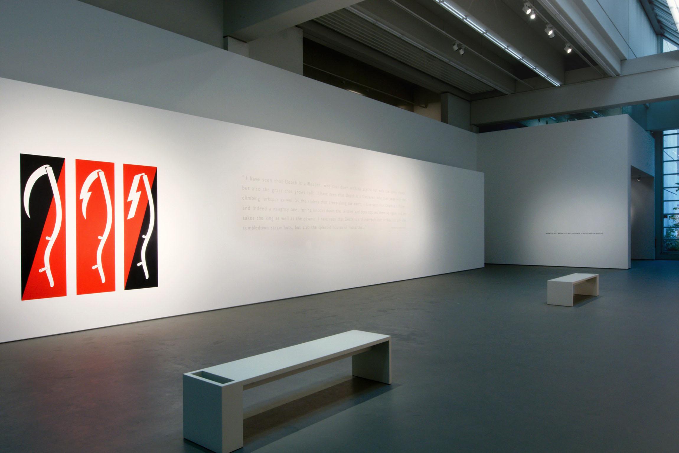 2012 Ian Hamilton Finlay Inter artes et naturam