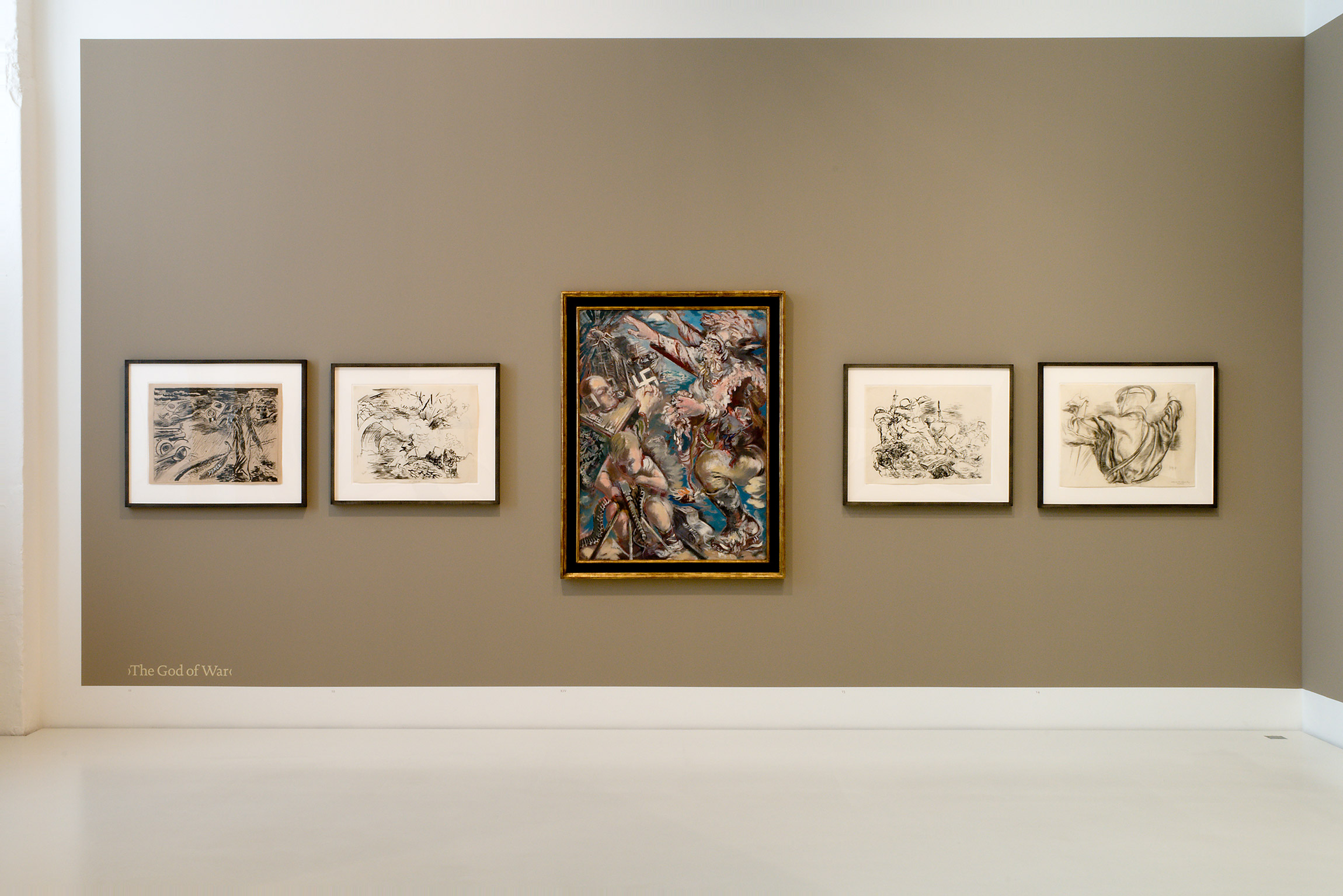 2009 George Grosz The Years in America 1933–1958