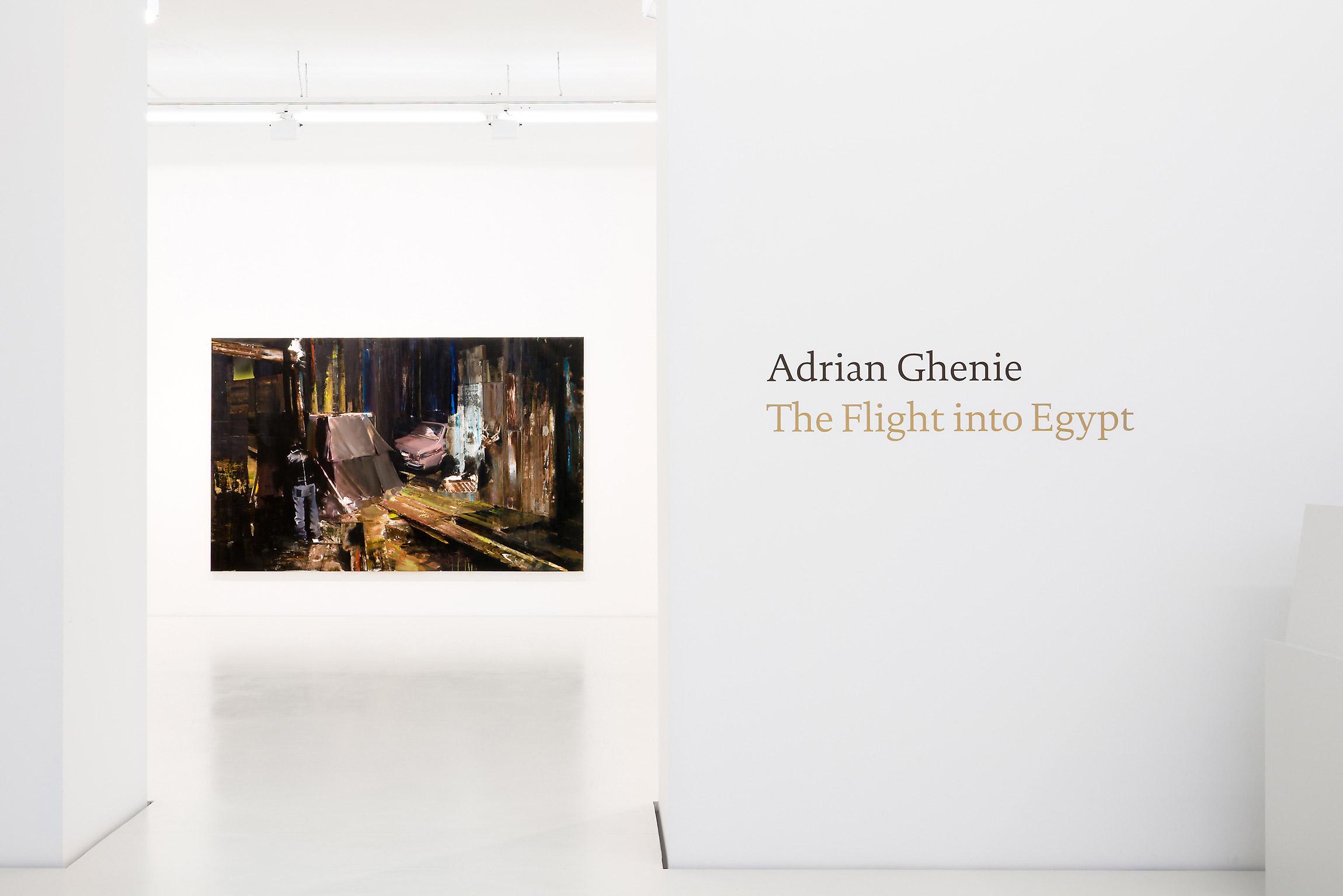 2008 Adrian Ghenie The Flight into Egypt