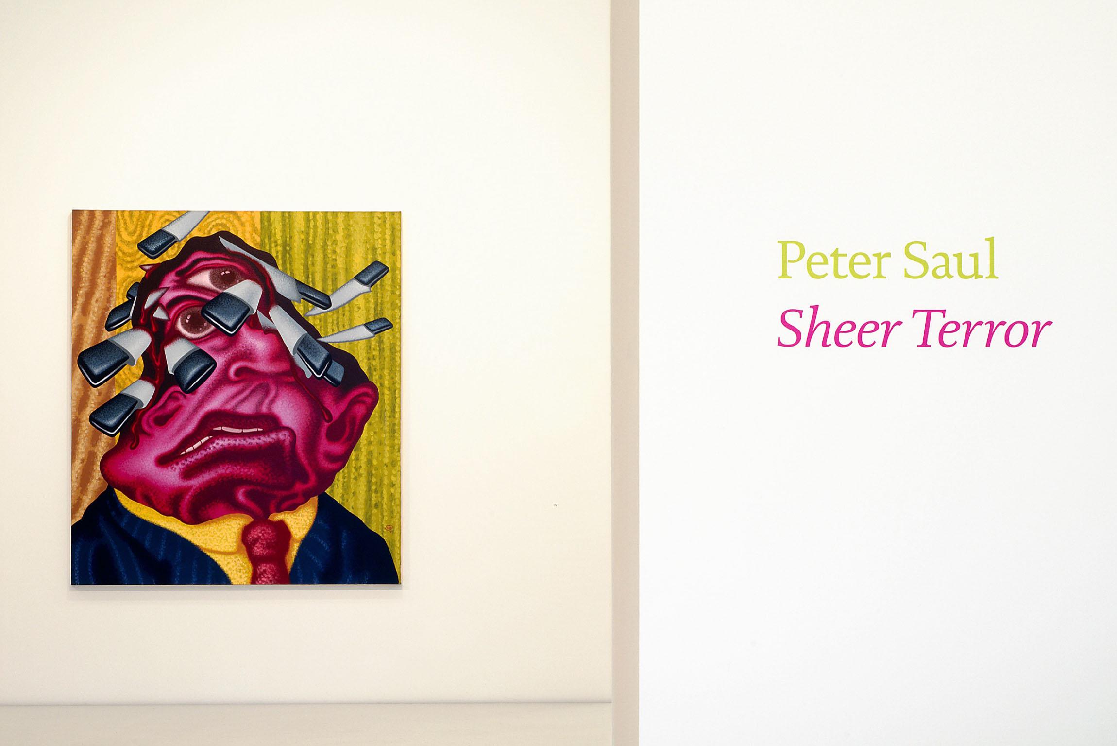 2010 Peter Saul Sheer Terror