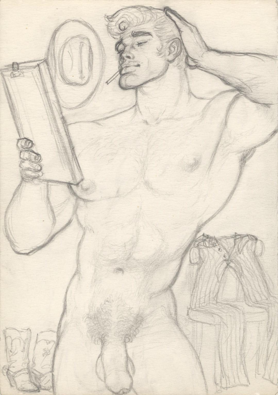 Tom of Finland Galerie Judin