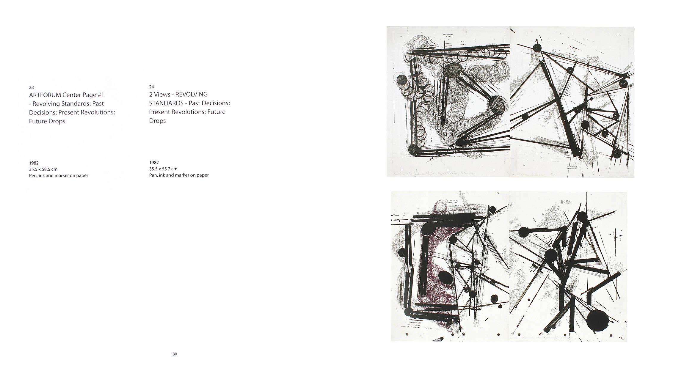 2003 Barry Le Va – A Survey of Drawings